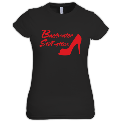 Women's Backwater Still-ettos T-shirt