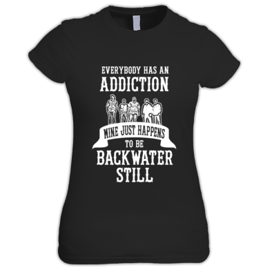Women's Backwater Still Addiction T-shirt