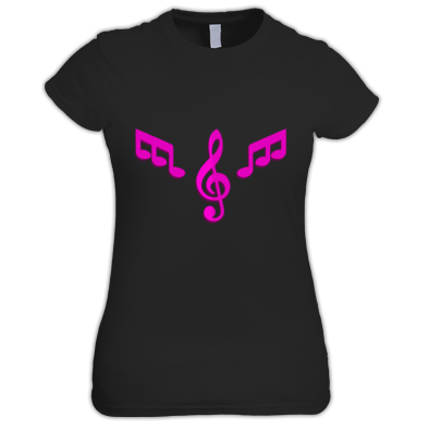 Women's T-shirt Pink Logo