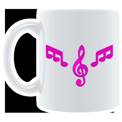 Mug Pink Logo