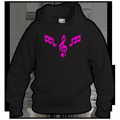 Hoodie Pink Logo