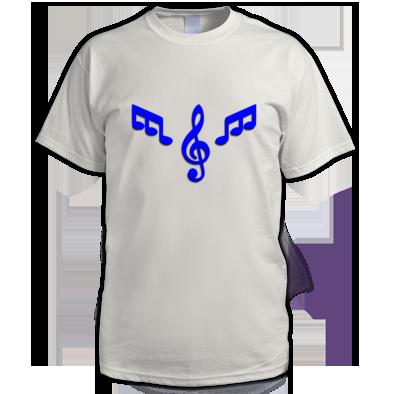 Men's T-shirt Blue Logo