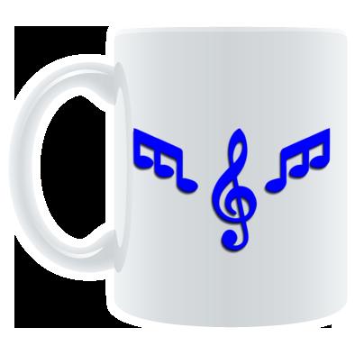 Mug Blue Logo