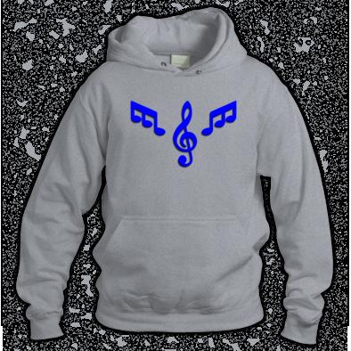 Hoodie Blue Logo