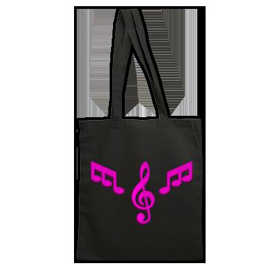 Handbag Pink Logo