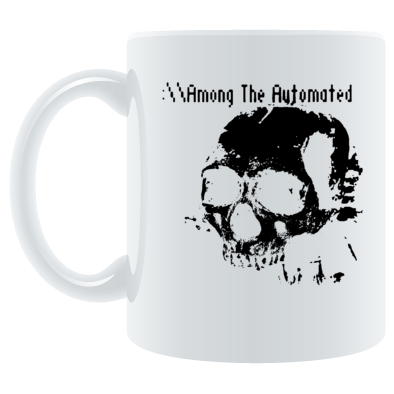 ATA Skull - Coffee Mug - Black/Red