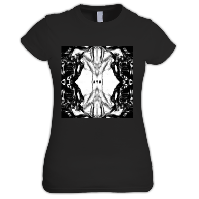 Symmetric Art Girl's Tee