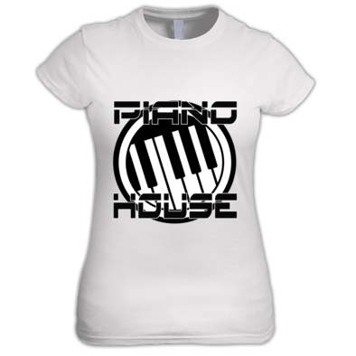 Piano house women's t shirt