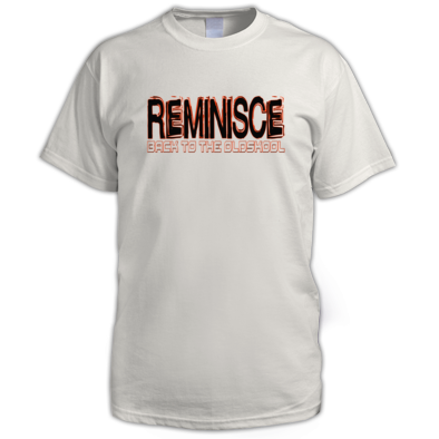 Reminisce Back to the oldskool Logo