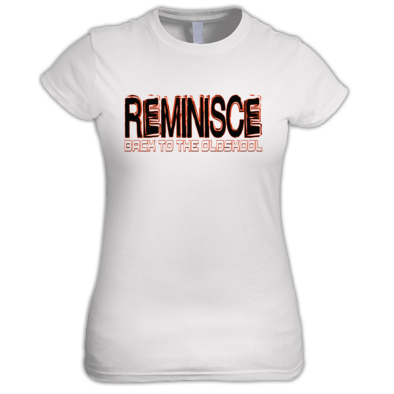 Reminisce Back to the oldskool Logo Women's