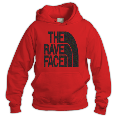 The Rave Face Men's Hoody Coloured