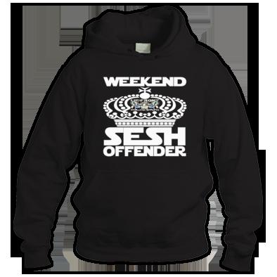 Weekend sesh offender Hoodie's