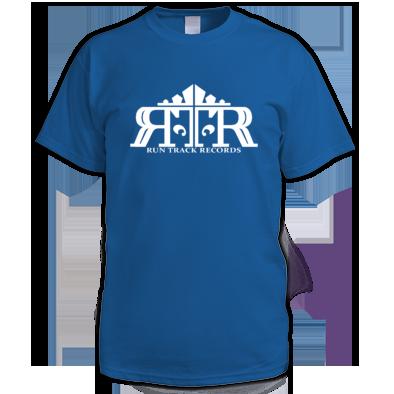 White on Royal blue