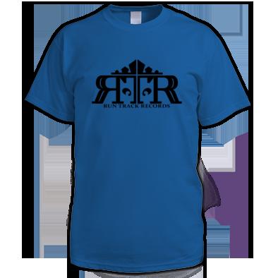 Black on Royal blue