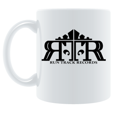 Run Track Records Logo Mug