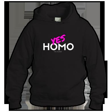 Yes Homo Hoodie