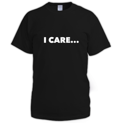 I Care... Men's T-Shirt