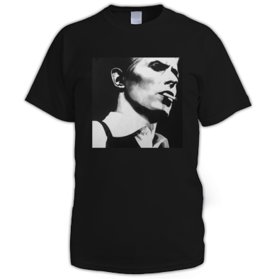 Bowie - Thin White Duke - Men's T-Shirt