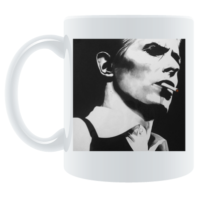 Bowie - Thin White Duke - Mug