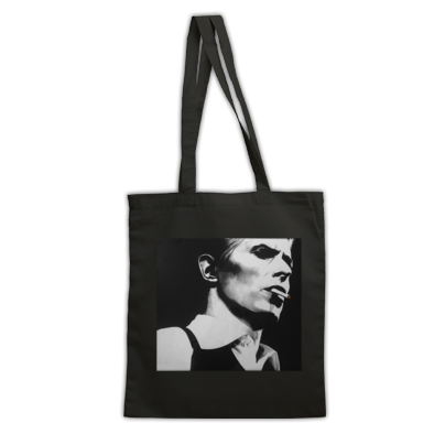 Bowie - Thin White Duke - Tote Bag