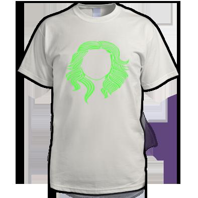 Green on White