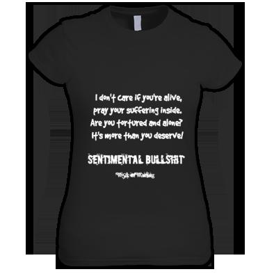 Weak Of Wanting Sentimental Bulls**t lyric