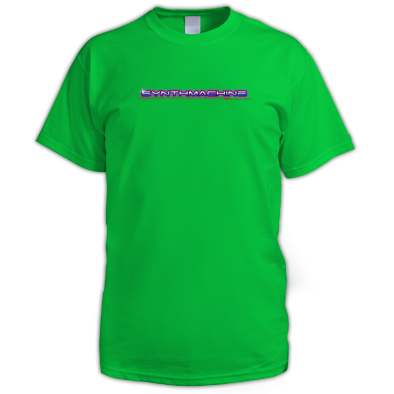 Synthmachine Logo - Men's T-Shirt