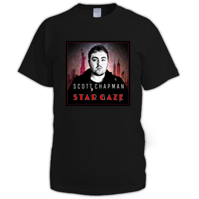Star Gaze Album Cover Mens T-Shirt