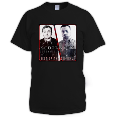 Scott & Ben: Ultimately Acoustic Best Of The Originals Album Cover Mens T-Shirt