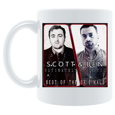Scott & Ben: Ultimately Acoustic Best Of The Originals Album Cover Mug