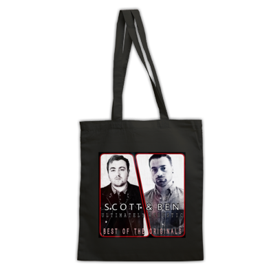 Scott & Ben: Ultimately Acoustic Best Of The Originals Album Cover Bag