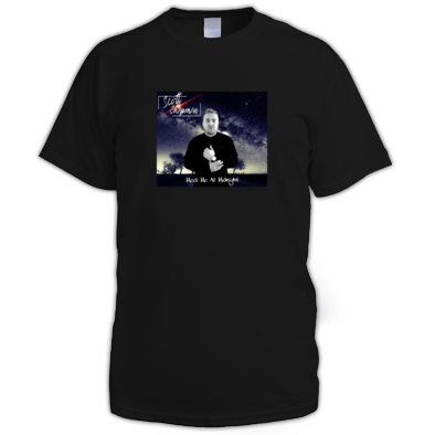 Scott Chapman - Meet Me At Midnight Album Cover T-Shirt