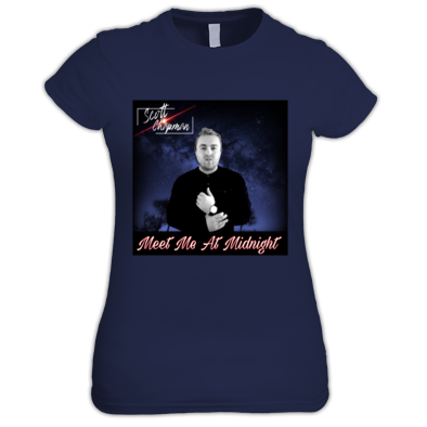 Scott Chapman - Meet Me At Midnight - Album - Official Woman's T - Shirt