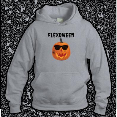 Flexoween Hoodie (grey)