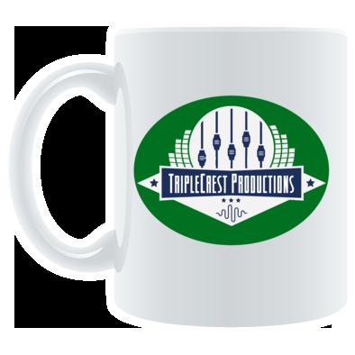 TripleCrest Logo Mug GRN