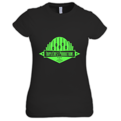TripleCrest Logo Ladies T-Shirt