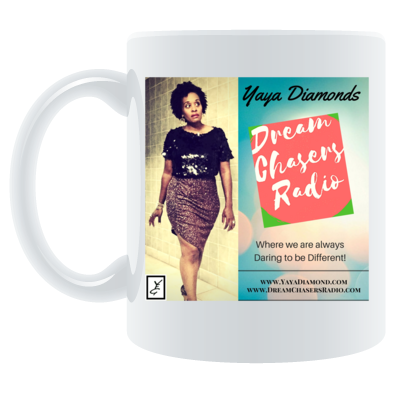 Dream Chasers Radio coffee mug