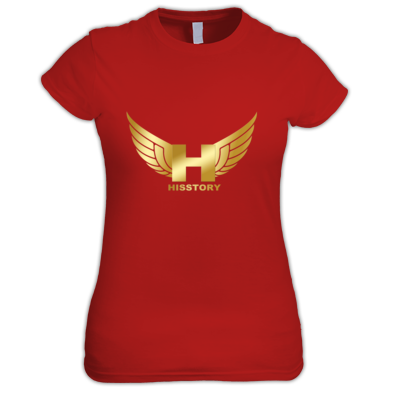 HisStory Womens Logo Tee