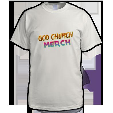 God Church Merch: Orange