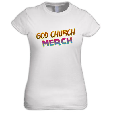 God Church Merch: Orange