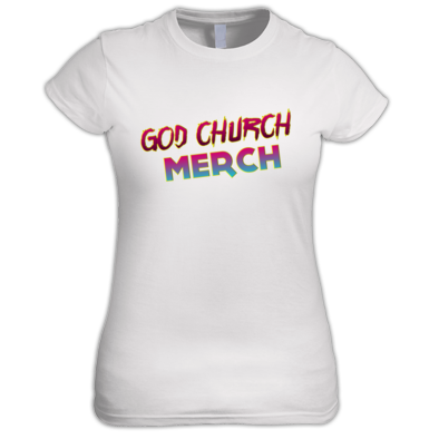 God Church Merch: Pink