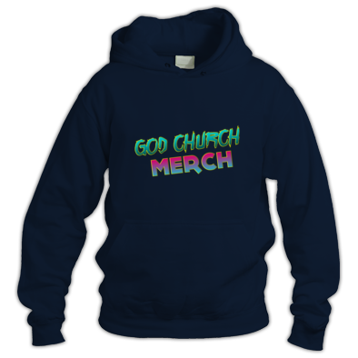 God Church Merch: Cyan