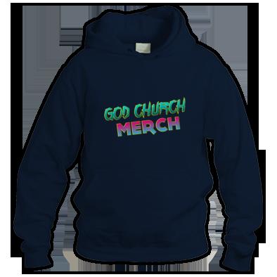 God Church Merch: Cyan