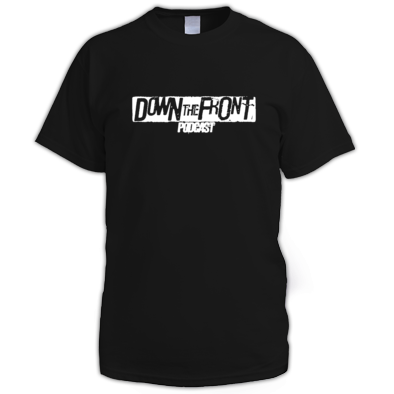 Down The Front Podcast Mens Tee