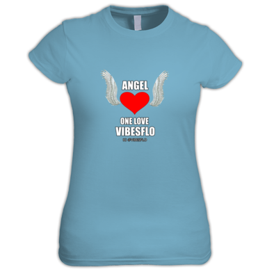ANGEL WOMEN'S T-SHIRT (SINGLE PROMO ) ONELOVEVIBES BY VIBESFLO