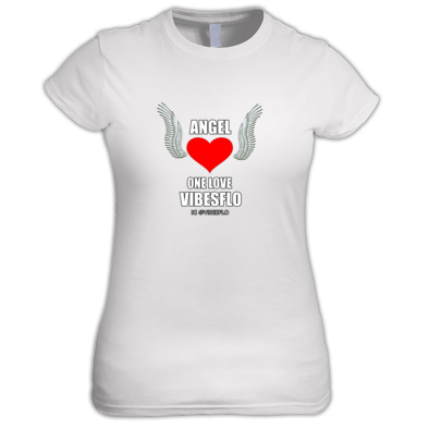 ANGEL (SINGLE PROMO T-SHIRT) BY VIBESFLO from ONELOVEVIBES