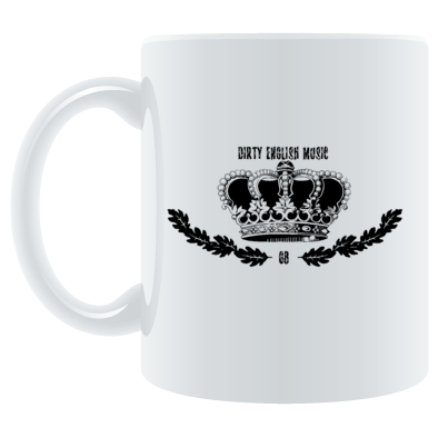 DIRTY ENGLISH MUSIC MUG