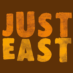 Just East merch
