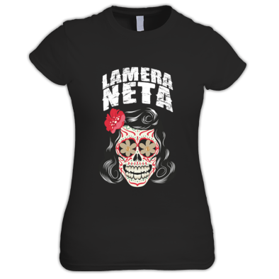 GreaserSkull_T-Shirt_Female