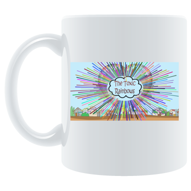Heart Nuke Coffee Mug